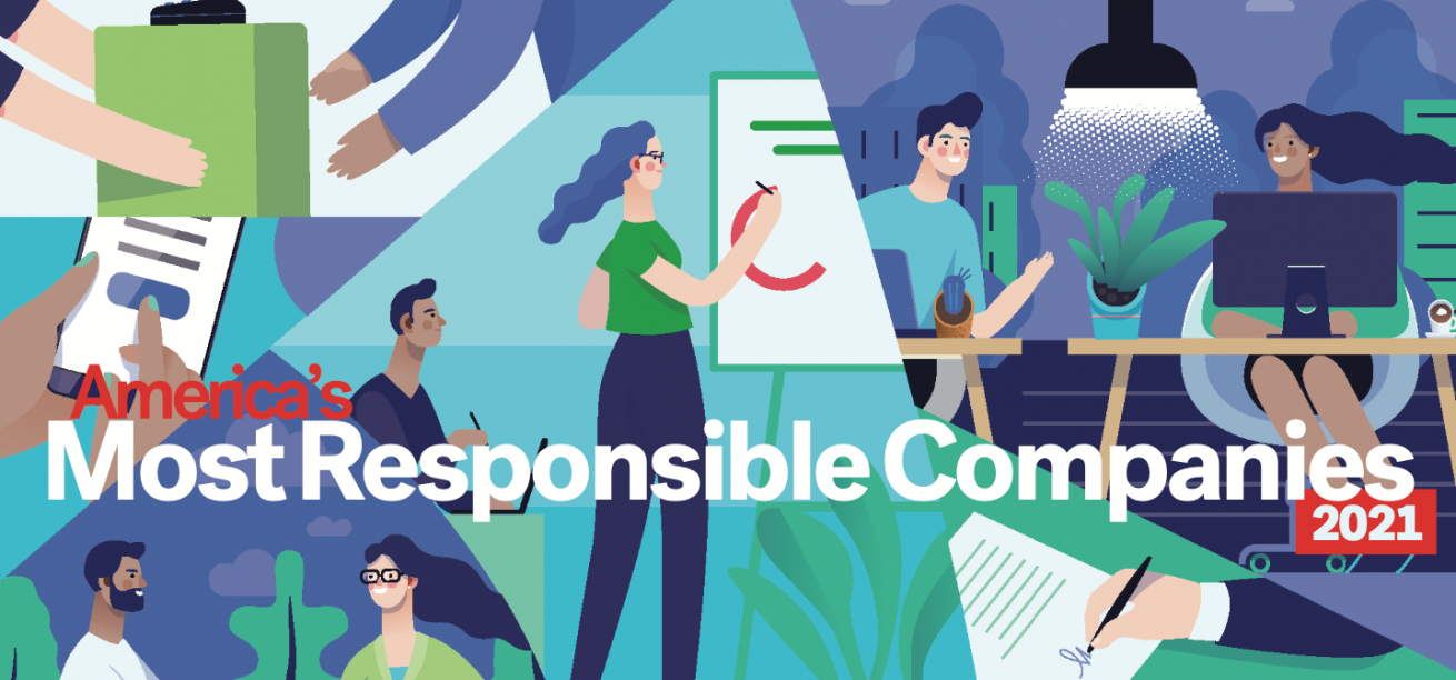 America's Most Responsible Companies 2021