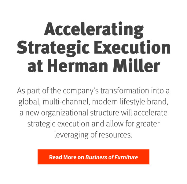 Accelerating Strategic Execution at Herman Miller