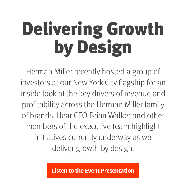 Delivering Growth by Design